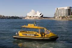 Taxi de l'eau à Sydney Photographie stock libre de droits