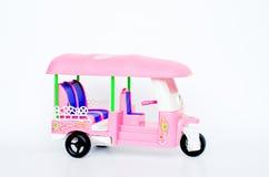 Taxi de la Thaïlande de jouet Photo stock