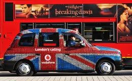 Taxi de Londres Photographie stock libre de droits
