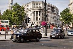 Taxi de Londres Imagen de archivo libre de regalías