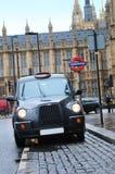 Taxi de Londres Photos libres de droits