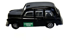 Taxi de Londres, recuerdo Imágenes de archivo libres de regalías