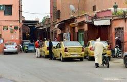 Taxi de Marrakesh Imagenes de archivo