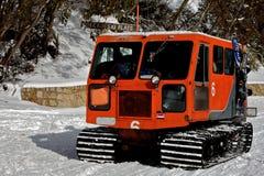 Taxi de neige dans la neige image libre de droits