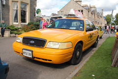 Taxi de New York Photo libre de droits