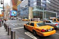 Taxi de New York Images libres de droits