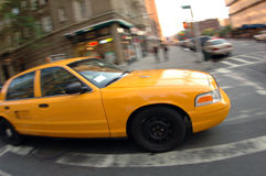 Taxi de New York City Foto de archivo