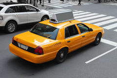 Taxi de New York City Images libres de droits