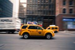 Taxi de New York City Imágenes de archivo libres de regalías