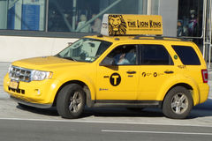 Taxi de New York City Photo stock