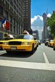 Taxi de Nueva York Fotografía de archivo