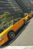 Taxi de Nueva York Imagen de archivo