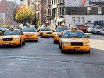 Taxi de Nueva York Imagen de archivo libre de regalías