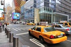 Taxi de Nueva York Imágenes de archivo libres de regalías