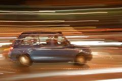 Taxi de nuit Image stock
