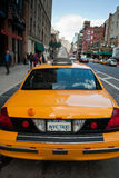 Taxi de NYC Images stock