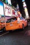 Taxi de NYC Fotografía de archivo libre de regalías