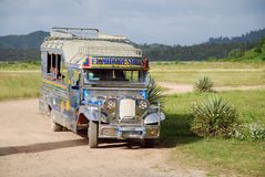 Taxi de Philippines image libre de droits