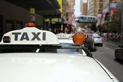 Taxi de Sydney Foto de archivo libre de regalías