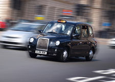 Taxi de taxi de Londres Images libres de droits