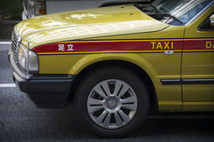 Taxi de Tokyo Images stock