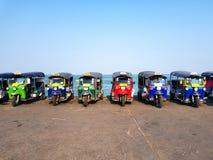 Taxi de Tuk Tuk de la Thaïlande images stock