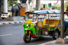 Taxi de Tuk-Tuk de Tailandia solamente Imágenes de archivo libres de regalías