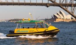 Taxi del agua de Sydney Foto de archivo libre de regalías