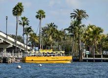 Taxi del agua del Fort Lauderdale Fotografía de archivo