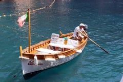 Taxi del barco Imágenes de archivo libres de regalías
