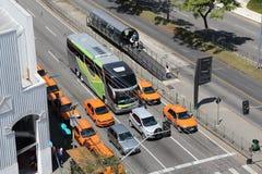 Taxi del Brasil Fotos de archivo libres de regalías
