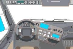 Taxi del camión stock de ilustración