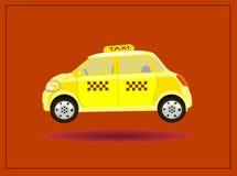Taxi delle icone di vettore Immagine Stock