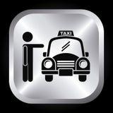 Taxi design Royalty Free Stock Photo