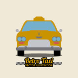 Taxi design Royalty Free Stock Photos