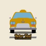 Taxi design Royalty Free Stock Photos