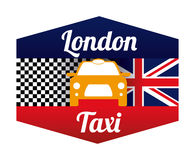Taxi design Stock Photos