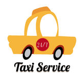 Taxi design Stock Images