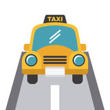 Taxi design Royalty Free Stock Photo