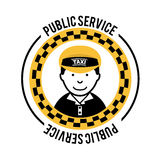 Taxi design Royalty Free Stock Photography