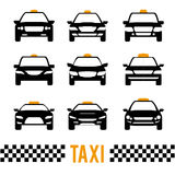Taxi design Stock Photography