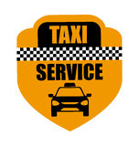 Taxi design Royalty Free Stock Images