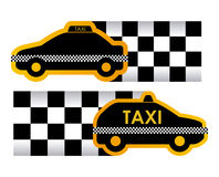 Taxi design Stock Photography