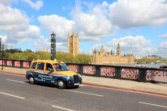 Taxi di Londra Immagine Stock Libera da Diritti