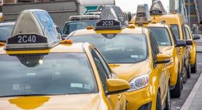 Taxi di New York City Immagine Stock