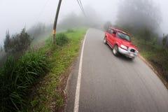 Taxi dichtbij Monteverde Costa Rica Stock Foto's