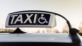 Taxi for disable transportation Stock Photo