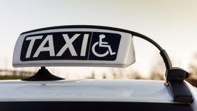 Taxi dla obezwładnia transport Zdjęcie Stock