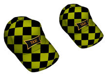 Taxi driver cap Royalty Free Stock Photo