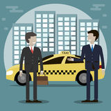Taxi Driver Service Stock Photography